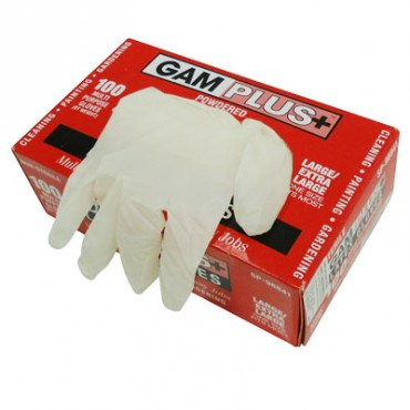 GUANTES LATEX DESECHABLES LG/XLG 100-PK