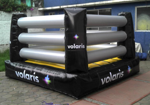 INFLABLE DE RING VOLARIS, PUBLICIDAD INFLABLE