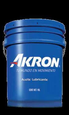 Akron Hydraulic HVI ZF 32 Cubeta 19 (alto índice de viscosidad antidesgaste (aw) mín 2000 hrs)