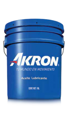 AKRON HYDRAULIC XLF 68 CUBETA 19L (ALTO RENDIMIENTO MÍN 6 HRS)
