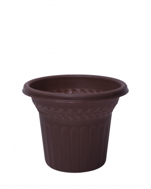 MACETA ROMA No. 5 CHOCOLATE