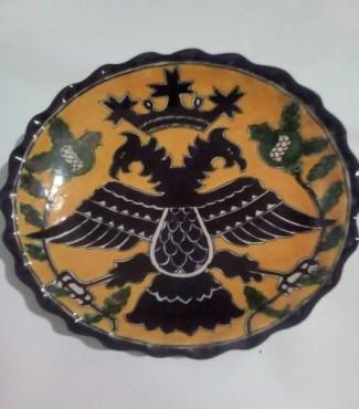 TALAVERa PLATO CHINO DE 25 CM DE DIAMETRO