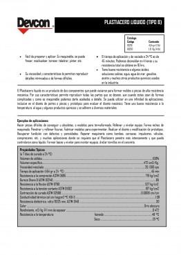 Reparadores de Metal, Plastiacero Normal Líquido, Adhesivo Epóxico con carga