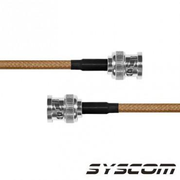 Cable RG142 con conectores BCN MACHO/BCN MACHO