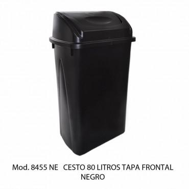 CESTO 80L NEGRO BALANCIN FRONTAL, SABLÓN