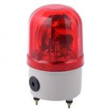 Lámpara tipo estrobo Color Roja