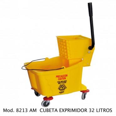 CUBETA EXPRIMIDORA 32L, SABLON