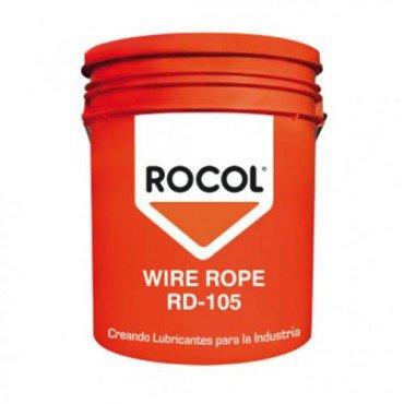 WIRE ROPE RD-105 GRASA LUBRICANTE PARA CABLES DE ACERO, ROCOL