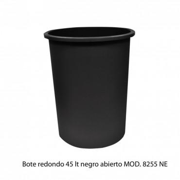 BOTE DE BASURA REDONDO 45L SIN TAPA, SABLÓN