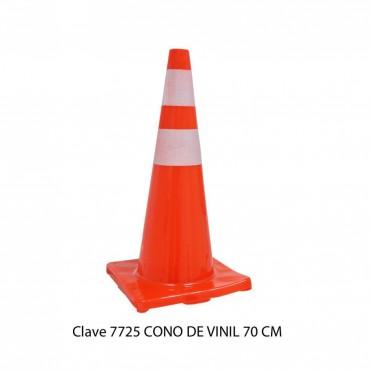 CONO VINIL C/REFLEJANTE 70 CM, SABLÓN