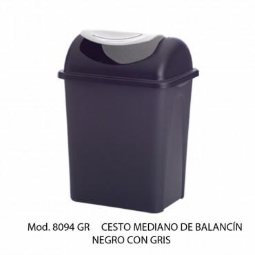 BOTE DE BASURA MEDIANOCON BALANCÍN, SABLÓN