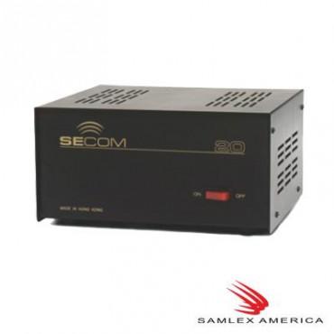 Fuente Convencional Samlex, corriente máxima 20 Amp. (Bajo pedido)