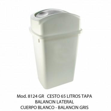 BOTE DE BASURA GRANDE CON BALANCÍN LATERAL