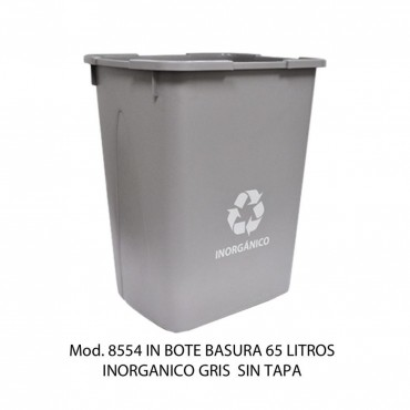 Bote de basura de litros grande