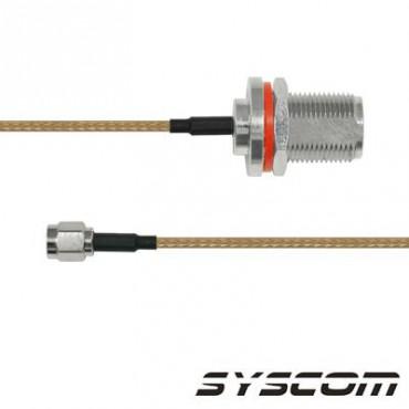 Cable RG316, con conectores N HEMBRA/SMA