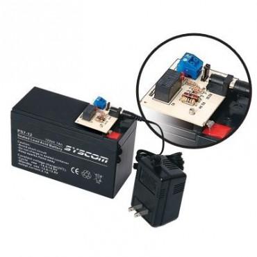 Fuente de respaldo con relevador para equipos de bajo consumo de energía (Requiere batería PL712)