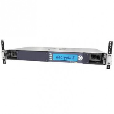 Central receptora de alarmas de 6 líneas de teléfono multiformato gabinete para RACK