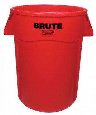 Contenedor BRUTE con canales de ventilación 166 L, Brute Bote para basura
