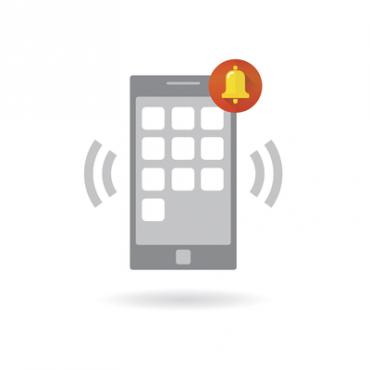 Módulo para envío de mensajes de texto Push Notification a una App de Securithor