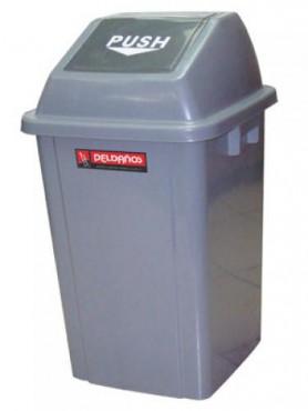 Botes de basura con compuerta 60 L, PELDAÑOS