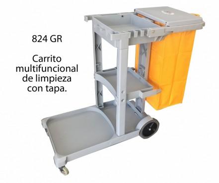 CARRITO DE LIMPIEZA, SABLON