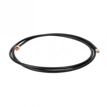 Jumper con Cable tipo RF400 con Conectores N Macho/ N Macho Hembra. 3 Metros