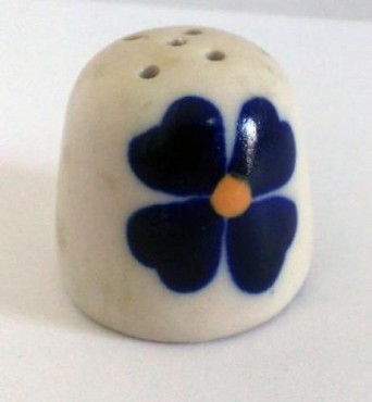 Salero Chico de cerámica flor