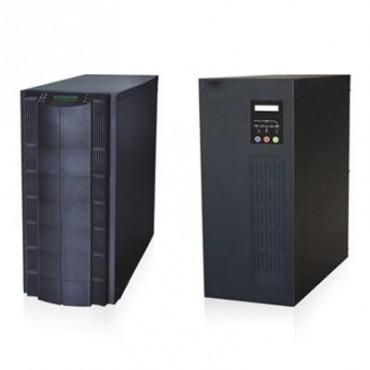 Inversor / Cargador para sistemas tipo isla de 192VCD/120VCA de 5000W onda sinusoidal pura con controlador MPPT. Administre una fuente fotovoltaica, la red eléctrica y recargue su banco de baterías y su consumo sin problemas