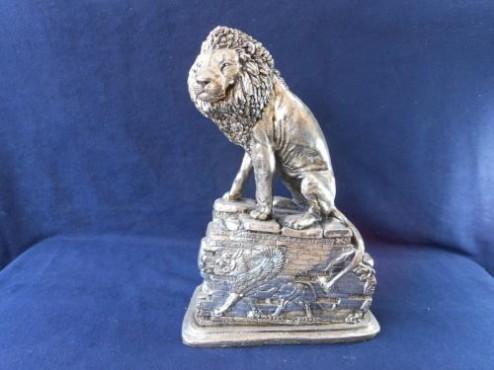 León Persa en ARTESANÍAS en plata