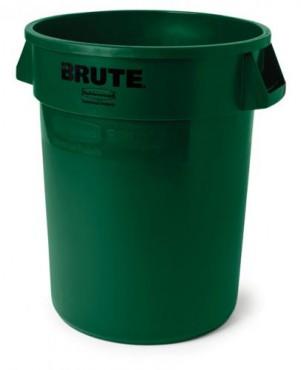 Bote para basura de plástico BRUTE 208 L,