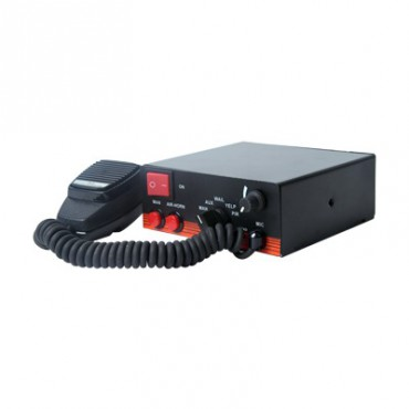 Sirena electrónica de 200 W de potencia