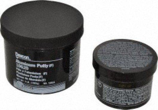 Plastitanium Pasta, Adhesivo Epóxico con carga de aluminio