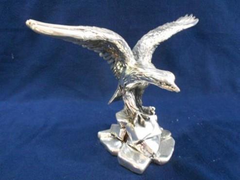 Águila en Piedra en ARTESANÍAS de plata