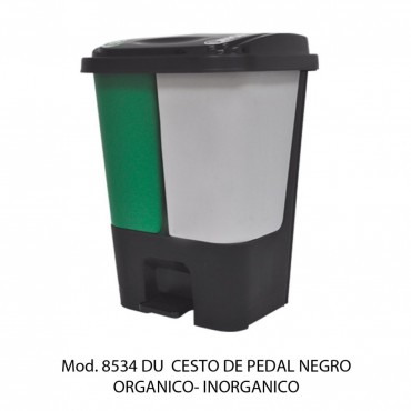BOTE DE BASURA DE PEDAL DE 17 LITROS, SABLÓN