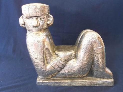 Chac mool Grande, figuras prehispánicas, reflejados en los guerreros aztecas