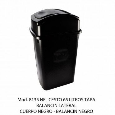 BOTE DE BASURA BALANCÍN LATERAL GRANDE