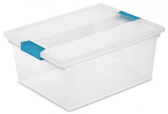 CAJA PROFUNDA CLIP BOX, CAJA DE PLASTICO, STERILITE