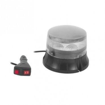 Burbuja LED giratoria color claro, 9 LEDs, montaje magnético