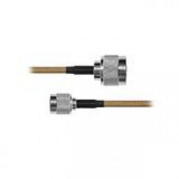 Cable RG142, con conductores N Macho / TNC Macho de 60 cm