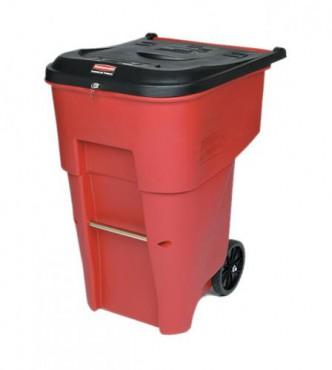 Contenedor con ruedas BRUTE para desperdicios médicos 360L
