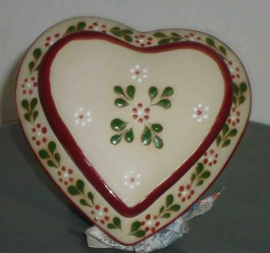 Alhajero Corazón DE cerámica alta temperatura