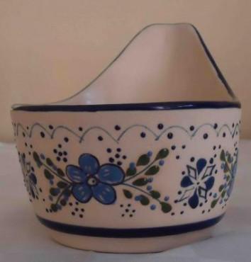 Salsera Molcajete chico elaborada en cerámica de alta temperatura