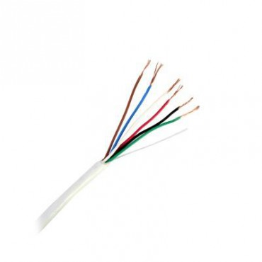 Cable Calibre 22 color blanco