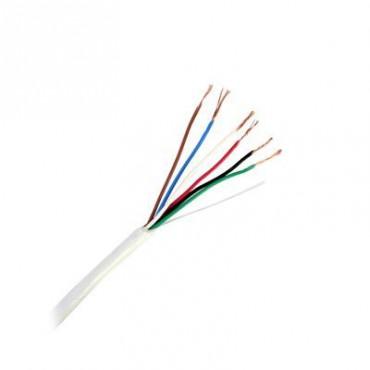 Cable Calibre 22 color blanco