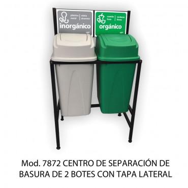 CESTO DE SEPARACIÓN DE BASURA, SABLÓN