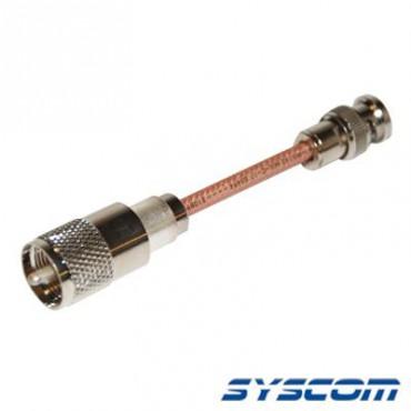 Cable RG142, con conectores BNC Macho /UHF (PL-259) Macho