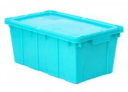 Caja Canadá con Tapa, Capacidad: 10 kg, EUROPLAST