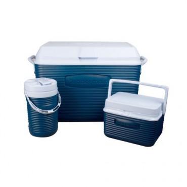 Combo de hielera de 45 QT en color  azul marino