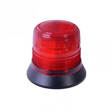 Burbuja brillante de 6 LEDs, color rojo, montaje magnético