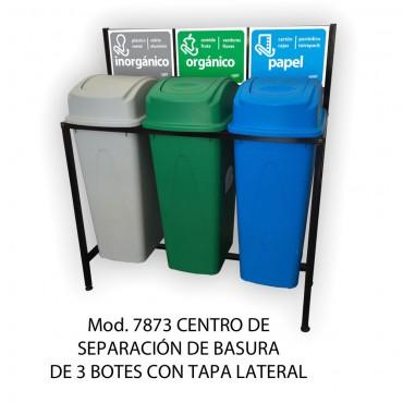 CENTRO DE SEPARACION DE BASURA, SABLÓN